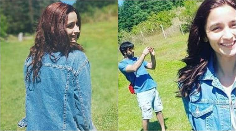 "<p><strong>Personal photographer</strong></p>  <p style=""text-align: justify;"">Here is a cute picture of Alia Bhatt and Ranbir as he turns her personal photographer. Alia is all smiles as her RK clicks her.</p>"