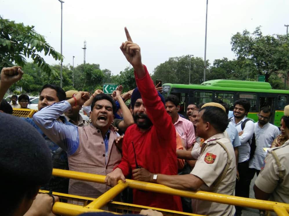 Christian conversion high court Kapil Mishra BJP tajinder bagga aap