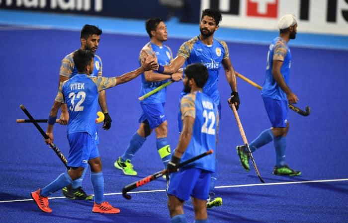 Asian Games 2018 India men hockey enter semi-finals 4th win Korea