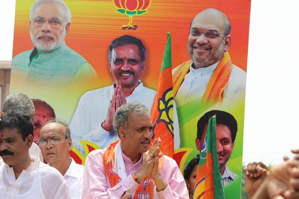 Karnataka BJP Vishweshwar Kageri files nomination to become next state Assembly Speaker