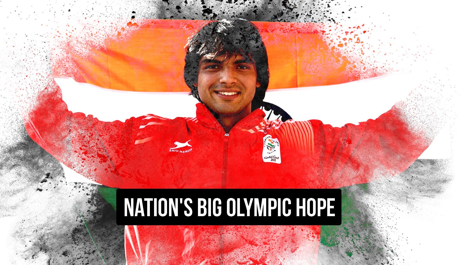 Neeraj Chopra Asian Games gold Olympic medal possible Tokyo