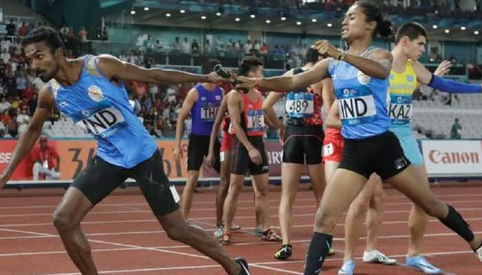 Asian games 2018 Hima Das Bahrain Athletics Federation of India Indonesia