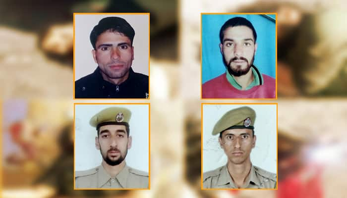 Four J&K policemen lost their lives after being attacked by terrorists in Shopian