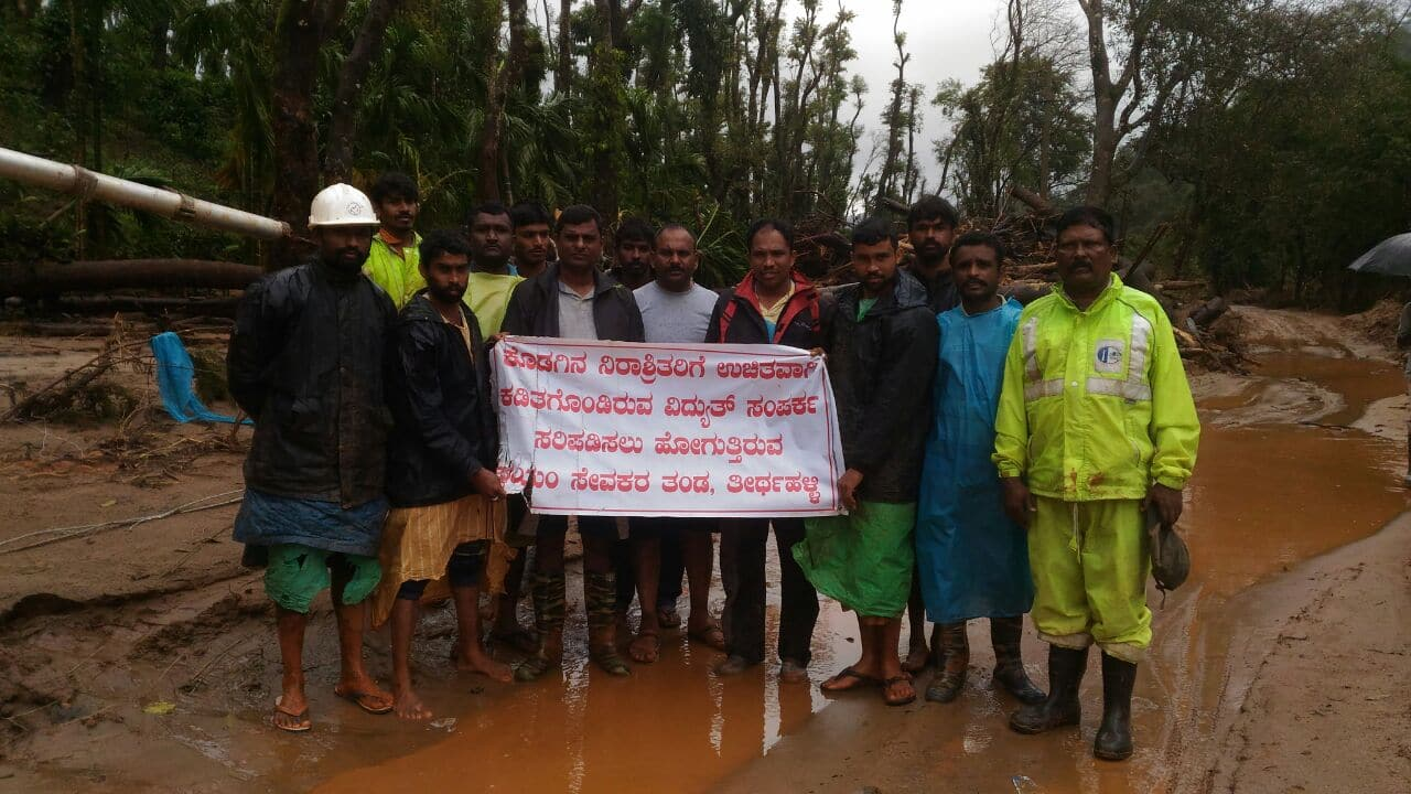 Kodagu rain affected victims to get aid from contractors