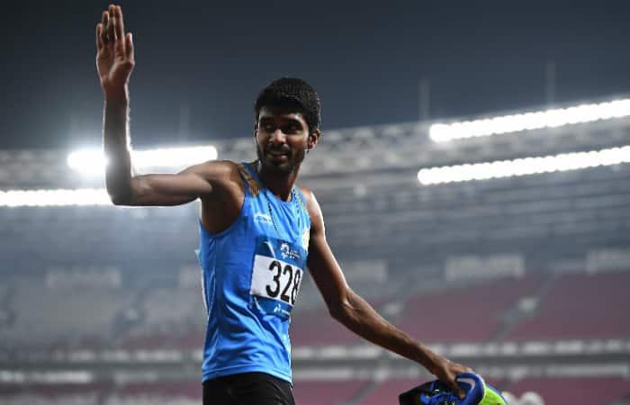 Asian Games 2018 Jinson Johnson gold Seema Punia bronze athletics