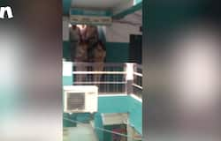 SUICIDE ATTEMPT MALL FARIDABAD HARYANA RESCUED