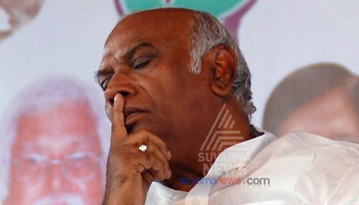 Veteran Congress leader Mallikarjuna Kharge files nomination for RS polls here is his asset details