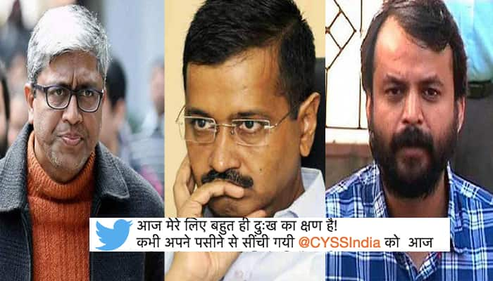 After Ashutosh and Khetan, the student leader left the 'Aap'