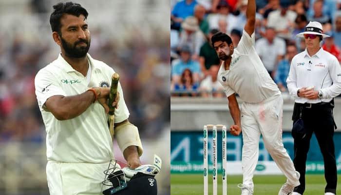 India vs England Pujara Ashwin 4th Test Southampton Highlights Kohli