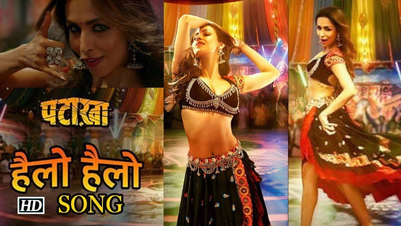 pataakha movie new song released today, malika set floor on gire by her dance moves