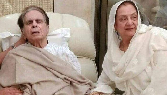dilip kumar is admitted in hospital