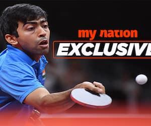 Harmeet Desai table tennis leagues India  Manika Batra Asian Games