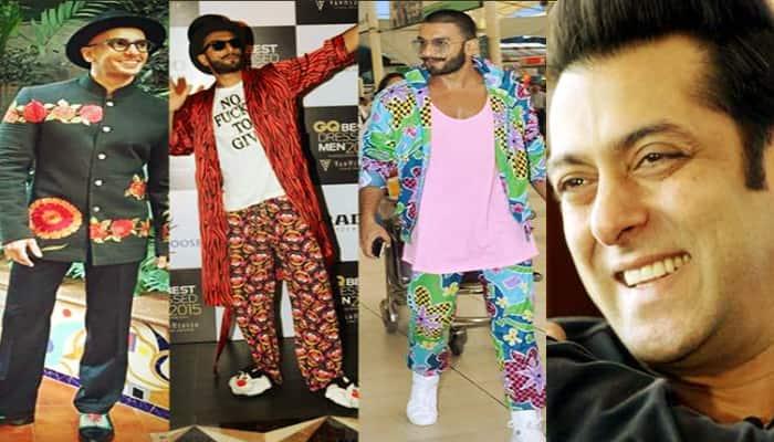 Salman khan make fun of ranveer singh dressing sense