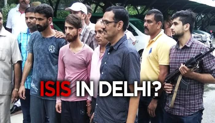 Two IS terrorists arrested in delhi