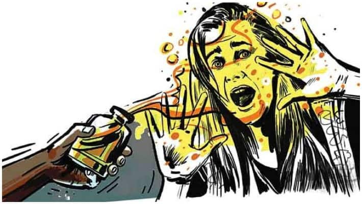 Kerala man arrested for acid attack woman her four minor children