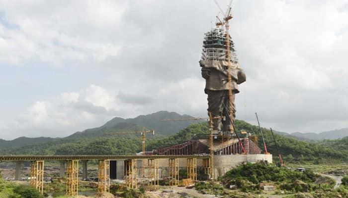 Sardar Vallabhbhai Patel Statue of Unity 3,500 workers 250 engineers