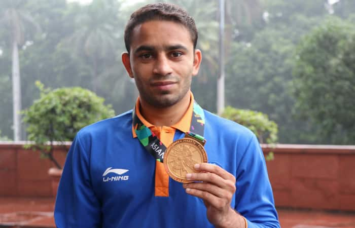 Asiad gold medallist boxer Amit Panghal eyes Olympic glory never expected stardom
