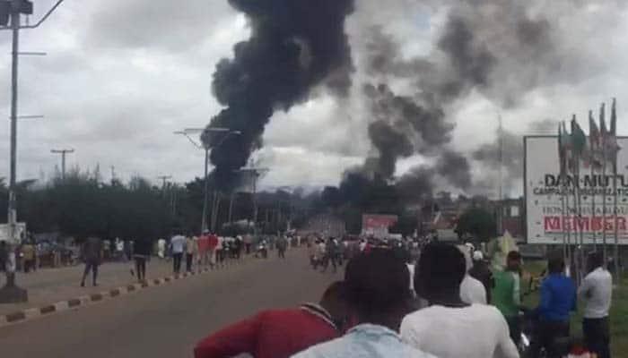 Unnao: Gas tank explodes at Hindustan Petroleum plant