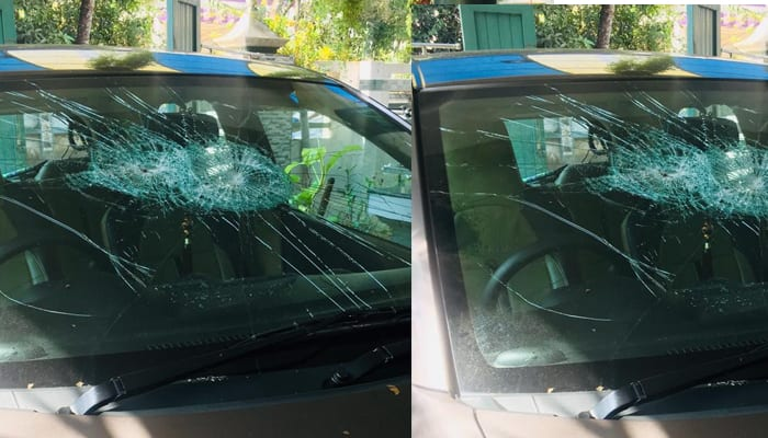 BJP MP Ranjeeta Koli's car attacked with stones, iron rods in Rajasthan's Bharatpur - bsb