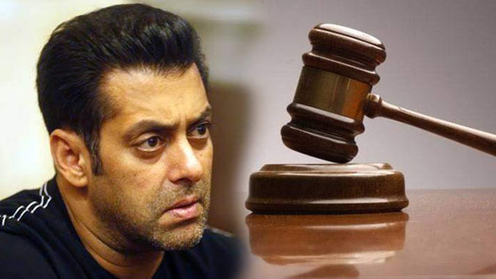 muzaffarnagar court release FIR notice against salman khan