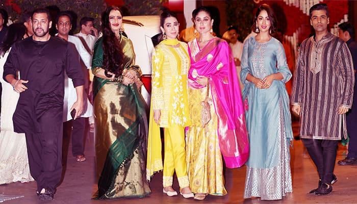 bollywood celebs celebrate ganesh chaturthi at ambani place