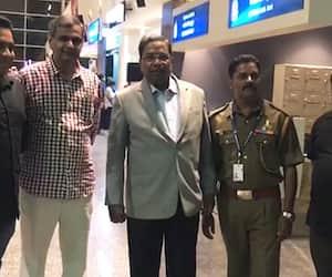 Former chief minister Siddaramaiah  foreign tour arrives Bengaluru