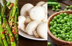 vegetables with protien