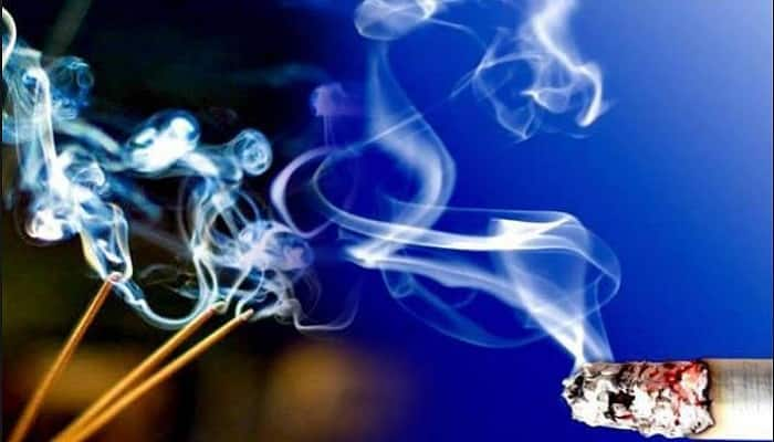 Agarbatti smoke is MORE harmful than cigarette smoke and may cause cancer!