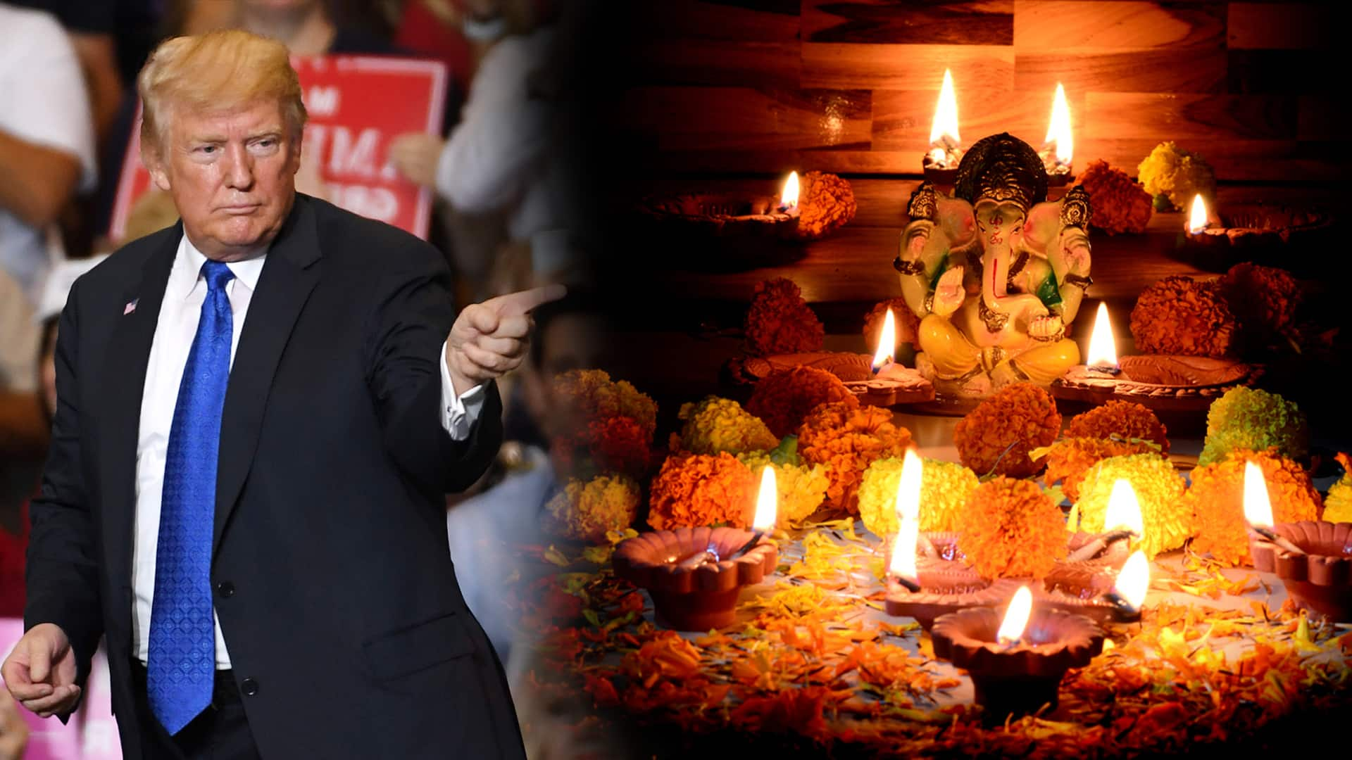 Now the trump is also the place of Ganapati