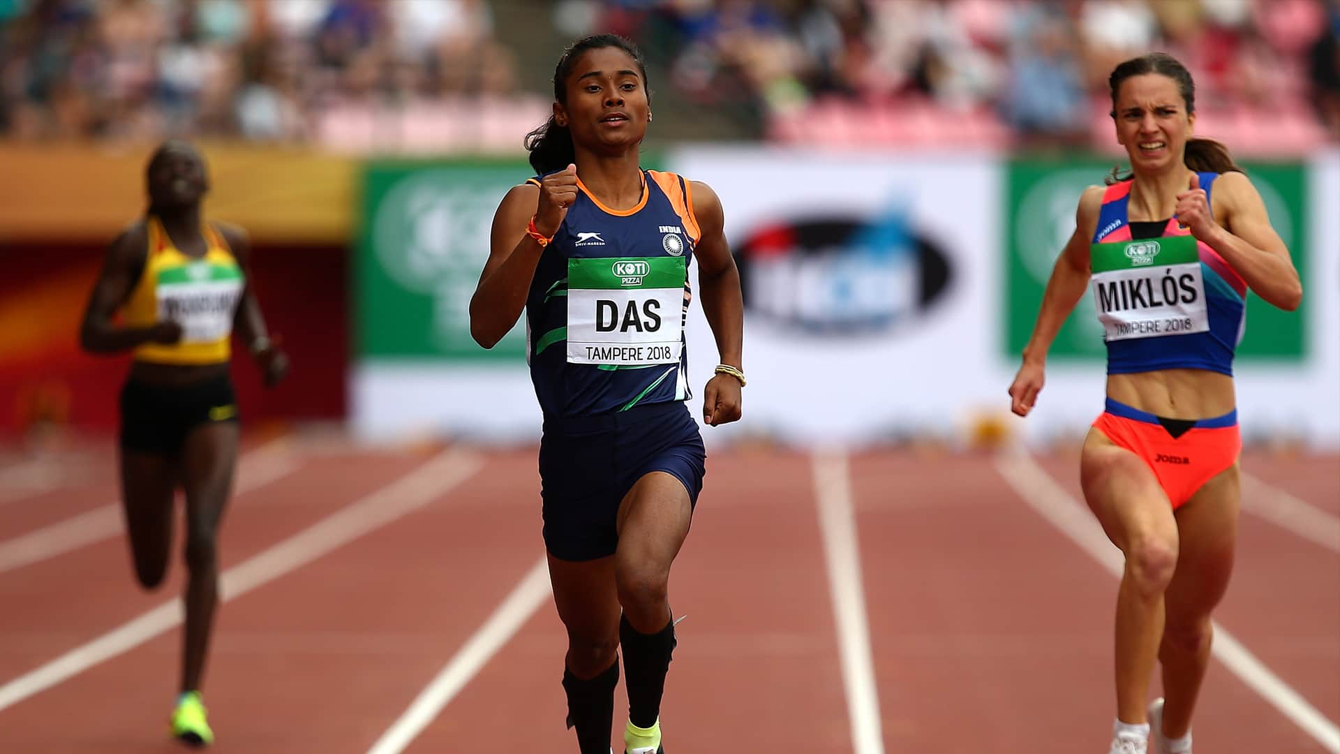 Hima Das write to Sports Ministry, wants permission to practice in outdoor