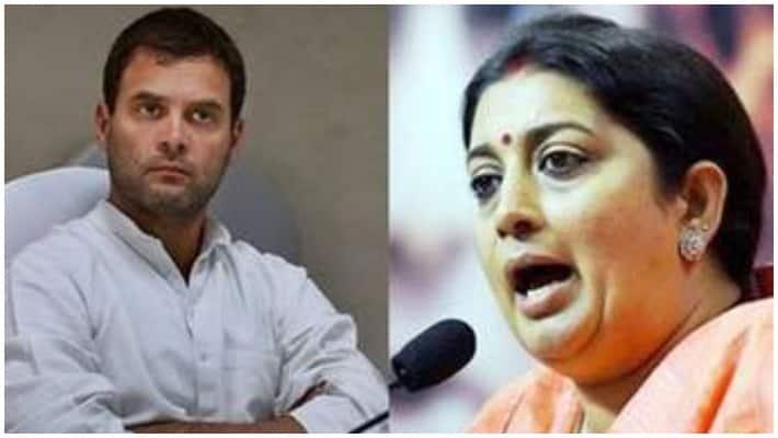 Smriti Irani Congress  Rahul Gandhi Shiv bhakt Lok Sabha elections 2019