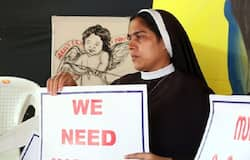 Kerala nun protest