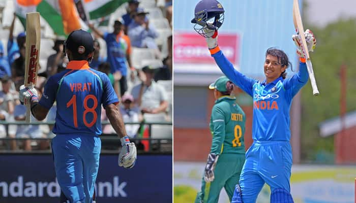 Virat Kohli and Smriti Mandhana named as Wisden Cricketers Almanack Leading Cricketers in the World