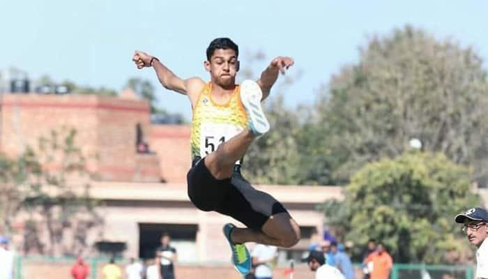 M Sreesankar qualifies to tokyo olympic games
