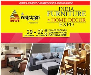 Furniture, home decor expo from September 29, Kannada star Srimurali to inaugurate event