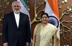 sushma swaraj mohammad javad zarif america india iran