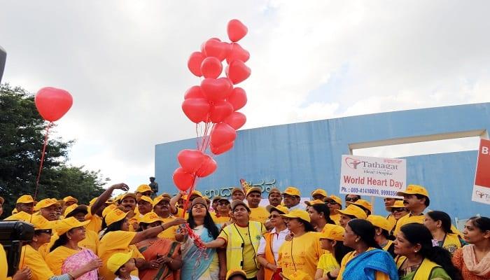 Modern life style cause rasing heart problem says Soumya Reddy on World Heart Day