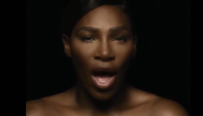 Serena Williams turned topless for breast cancer awareness