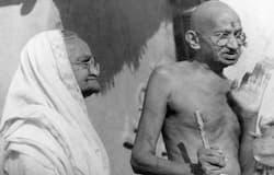 Mahatma and Kasturba Gandhi