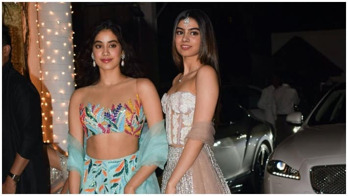 actress sri devi second daughter debut in bollywood movie