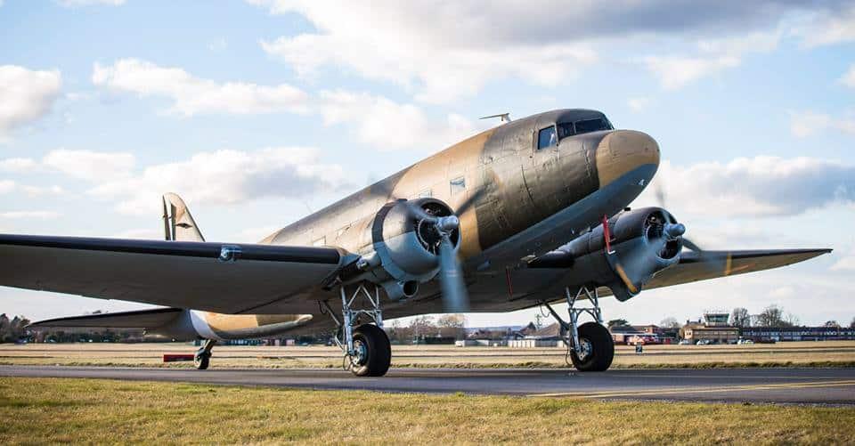 DC3 Dakota VP905 Indian Air Force Day 1940 vintage version