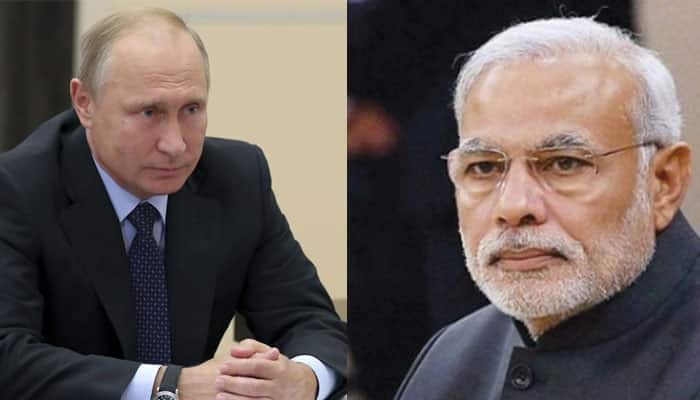 Russian President Vladimir Putin bats for stronger bilateral ties in Independence Day message to PM Modi