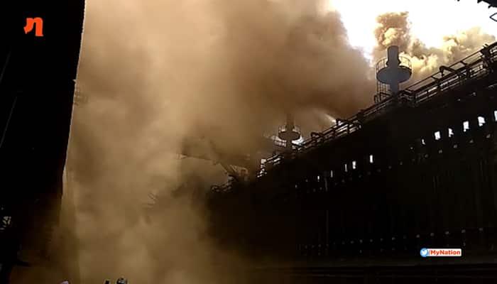 Bhilai Steel Plant 6 killed, 14 injured as gas pipeline bursts