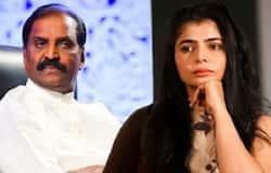 chinmayee  complaint about  vairamuthu