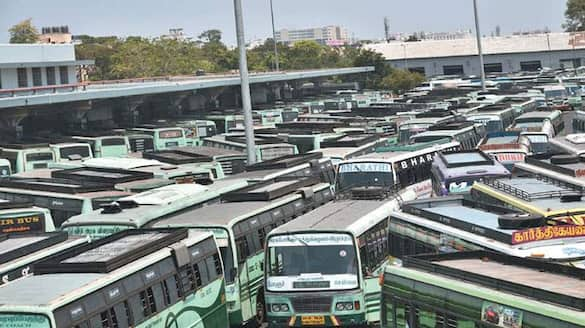 TN transport minister raja kannappan said 9636 special buses arranged for 2 days