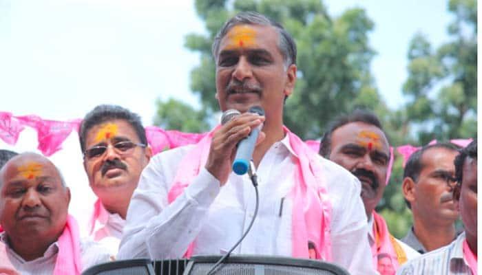 Telangana irrigation minister Harish rao sensational comments on chandrababunaidu