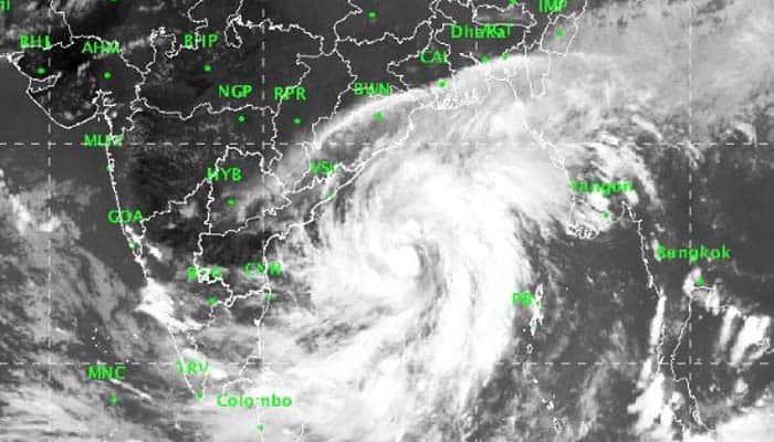Odisha Andhra Pradesh Cyclone Titli deep depression