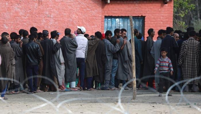 Terror Kashmir Voter turnout 16.4% in state, 3.5% in valley Municipal polls