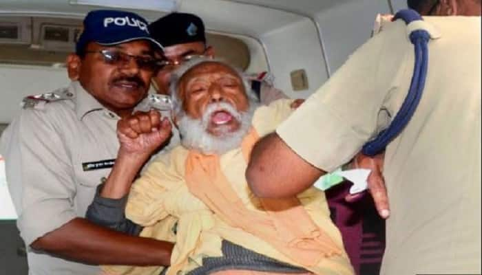 G D Agarawal who was on an indefinite fast for river Ganga dies