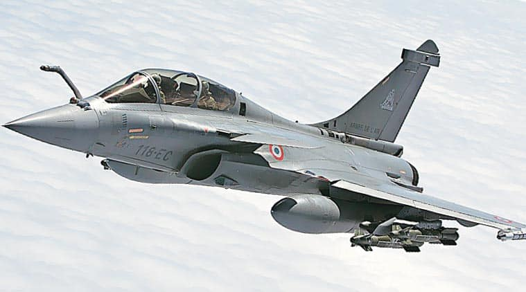 first look of rafale from the airbase-in-france